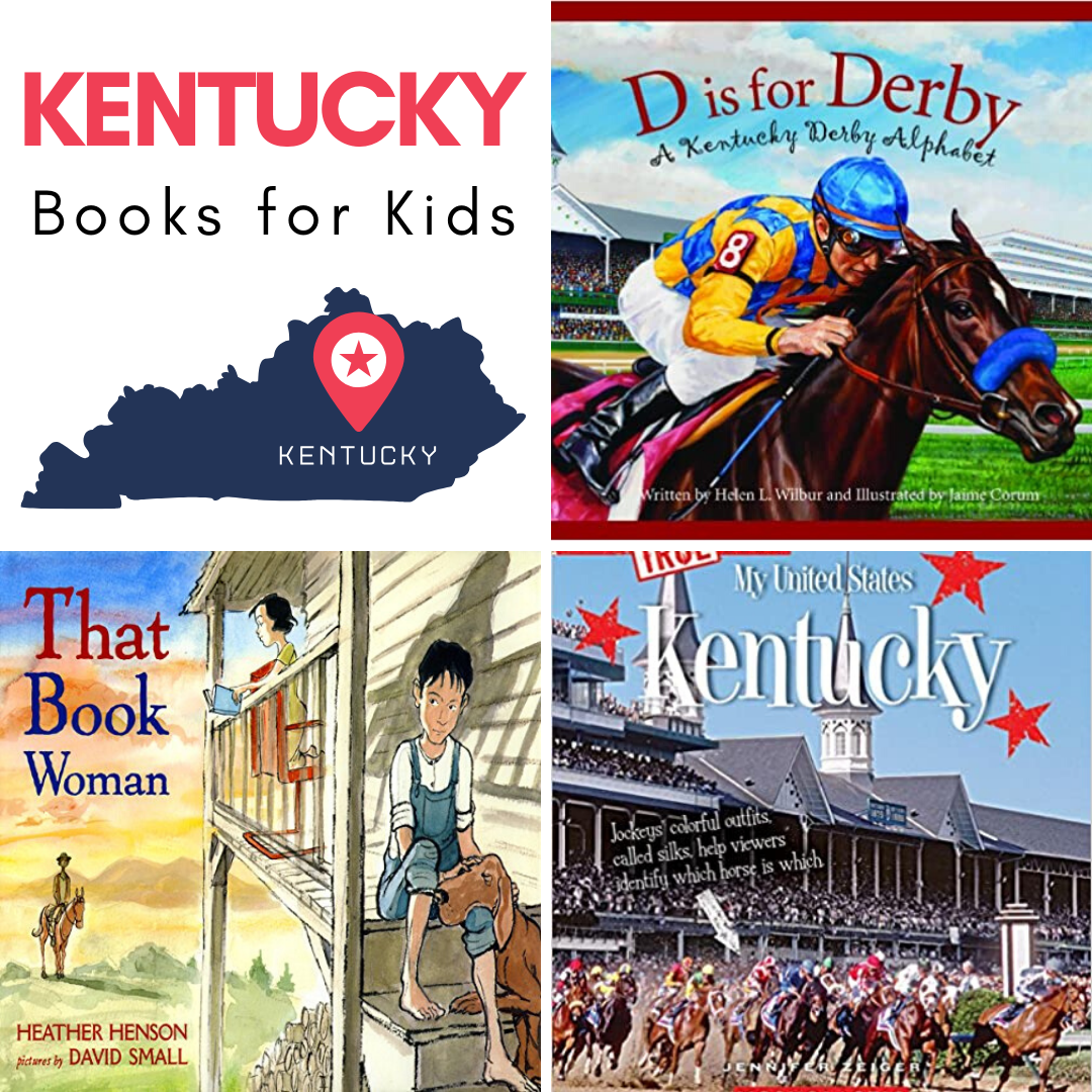 When you add these Kentucky books for kids to your upcoming state studies or geography lessons, you've got a great variety of kids books to choose from!
