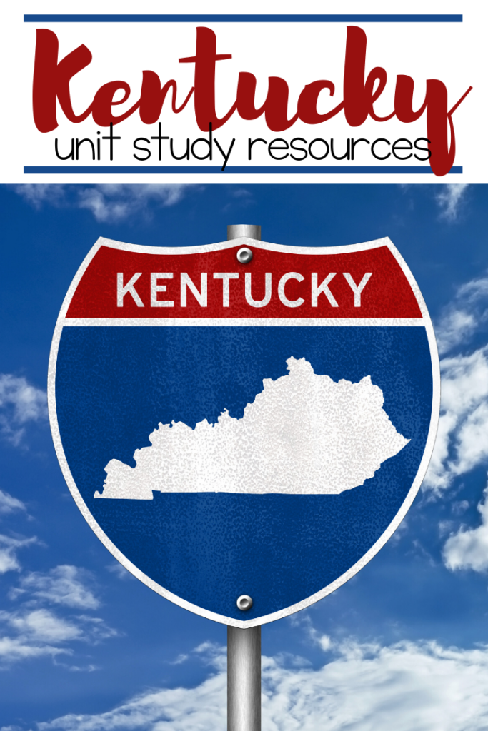 Learn more about Kentucky's history and geography with this fun and engaging list of Kentucky unit study resources for elementary and middle grades.