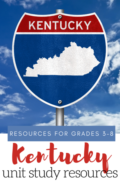 Learn more aboutKentucky'shistory and geography with this fun and engaging list of Kentucky unit study resources for elementary and middle grades.