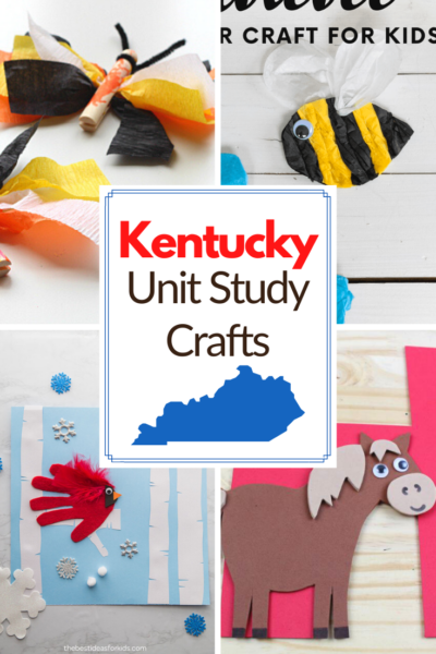 Add these Kentucky unit study crafts to your state studies and geography lessons. These crafts focus on Kentucky's symbols and customs.