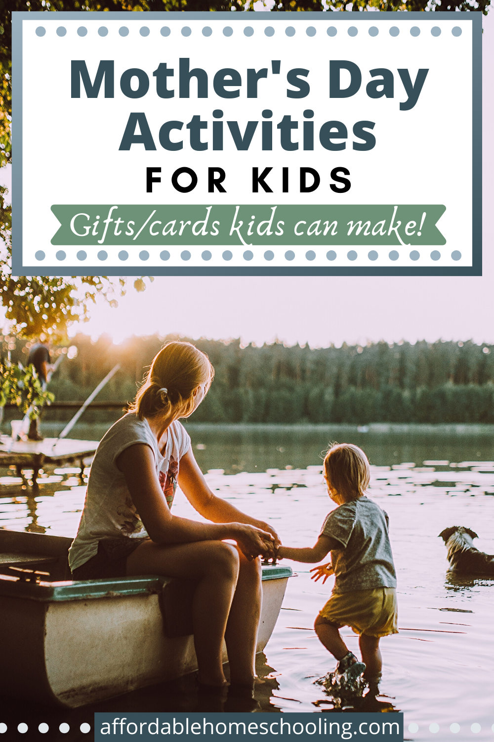 Let kids celebrate mom with one or more of these creative Mother's Day activities for kids. Ideas for gifts, cards, and pampering are included!