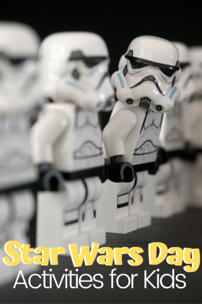 Star Wars fans will love each of these Star Wars Day activities for kids. You'll find activities for a wide variety of ages on this list.