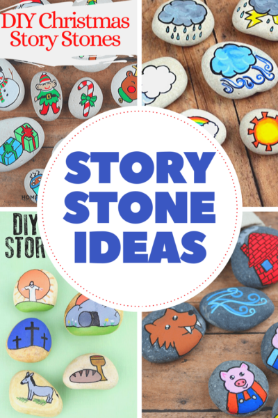 You don't want to miss these creative Story Stones Ideas for kids! They're perfect for storytelling and sequencing story events.