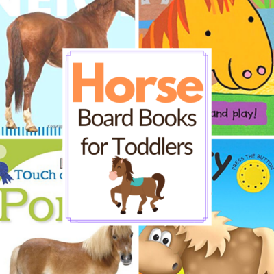 Horse Picture Books for Toddlers