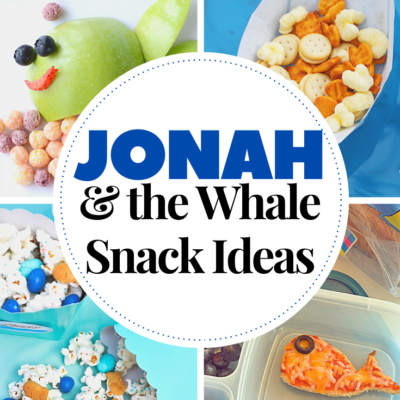 Jonah and the Whale Snack Ideas