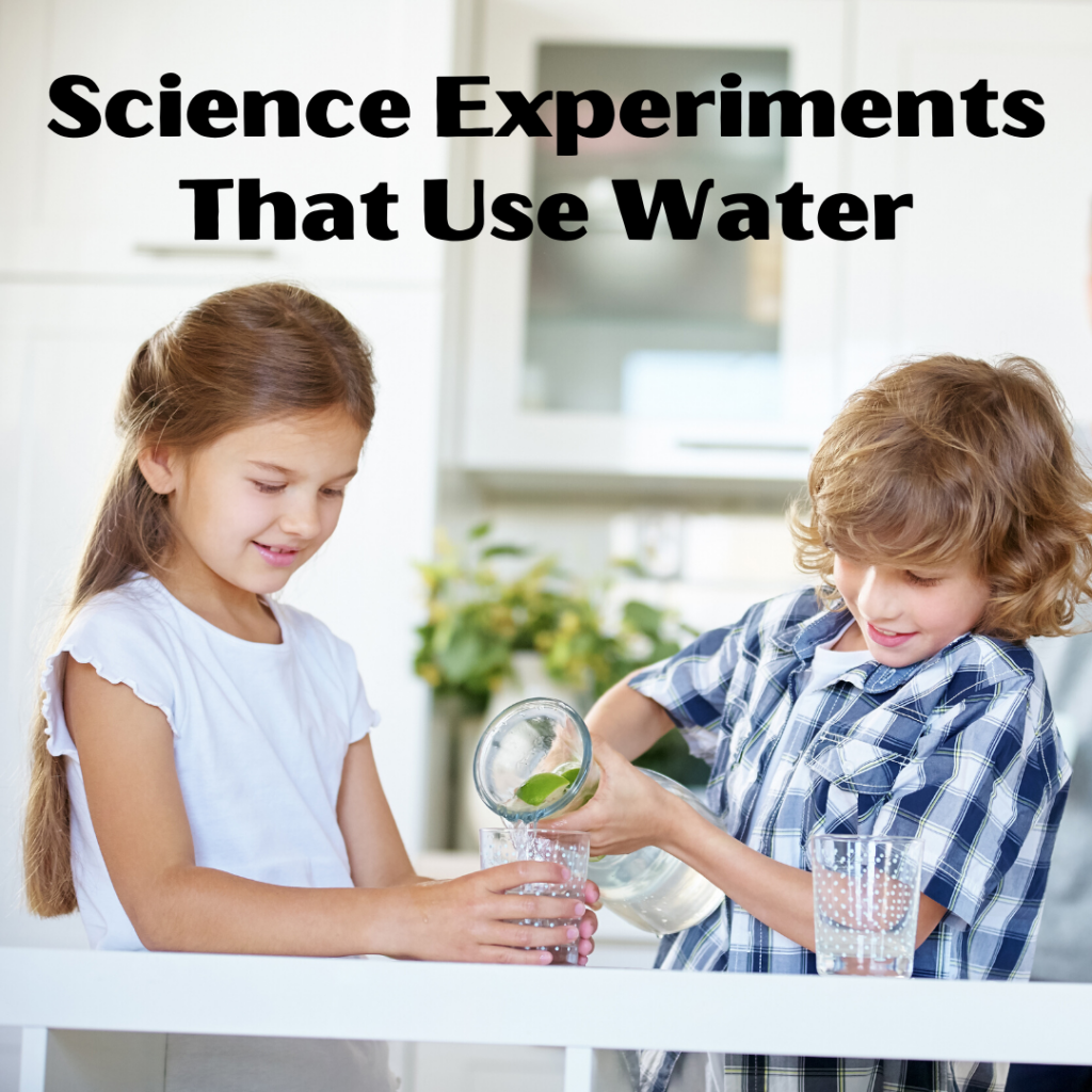 We love science activities that are simple to set up! These kid-friendly science experiments with water are perfect for summer or anytime!
