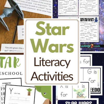 Star Wars Literacy Activities