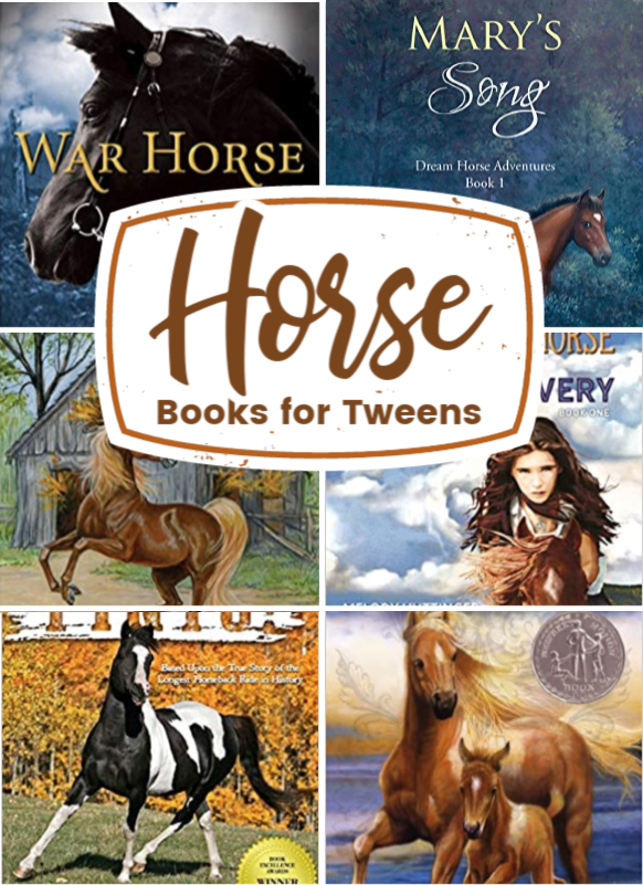 Animal lovers will love these horse books for tweens. They're perfect for readers ages 8-12. Use them for read-alouds or independent reading.