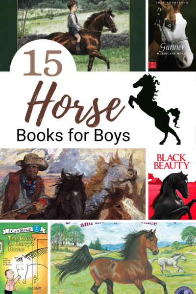 Looking for a way to engage your boys in a good book this summer? Try one or more of these horse books for boys! They also make great read-alouds.