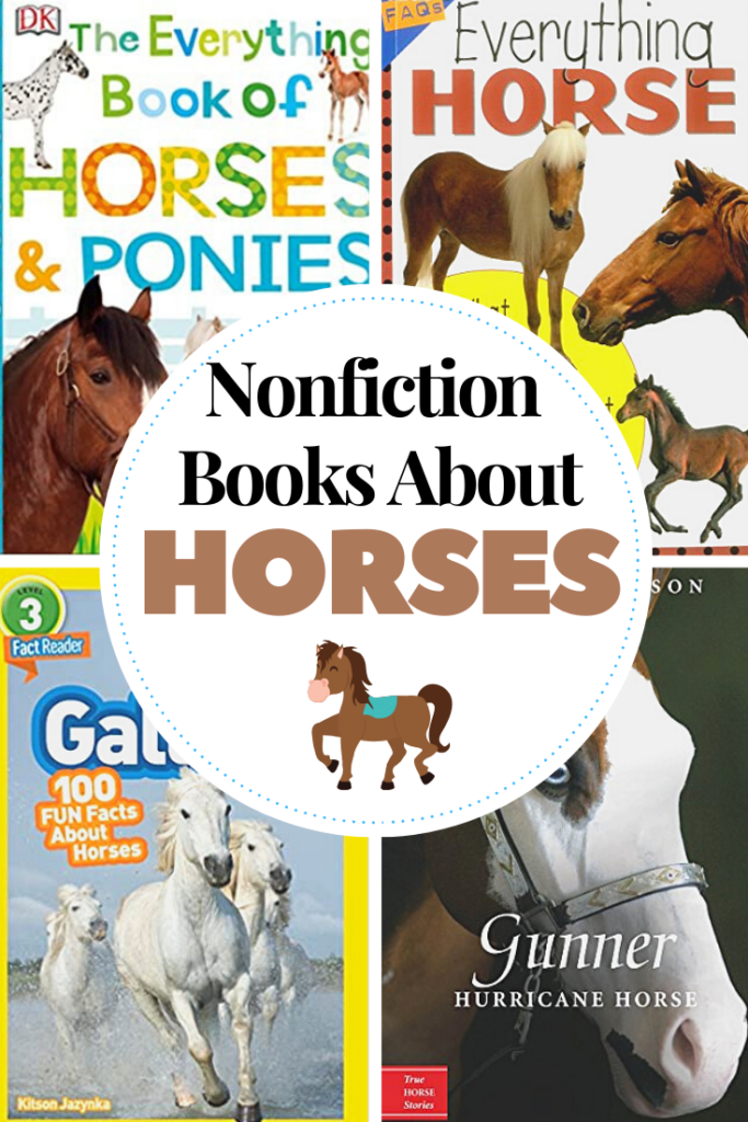 Horse lovers will love learning about their favorite animals with this amazing collection of nonfiction horse books! Perfect for ages 5-12!