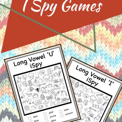 Long Vowel I Spy Games