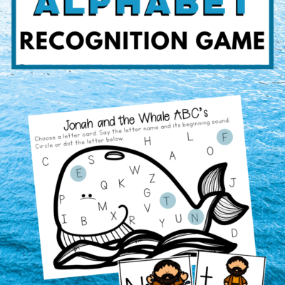 Jonah and the Whale ABC Game