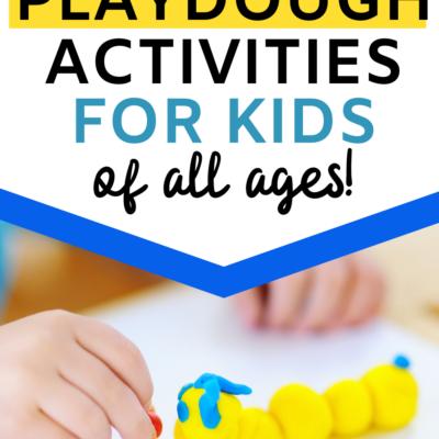 Summer Playdough Activities