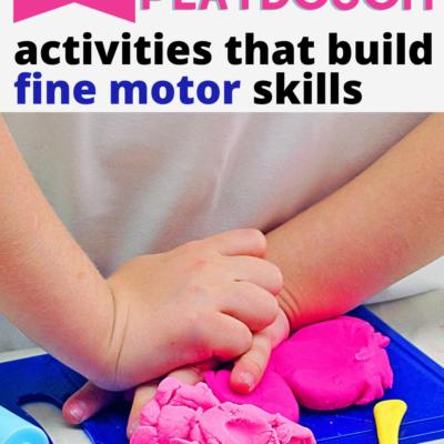 Playdough Activities for Fine Motor Skills