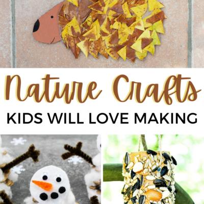 Nature Crafts Kids Can Make