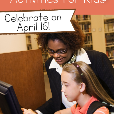 National Librarian Day Activities for Kids