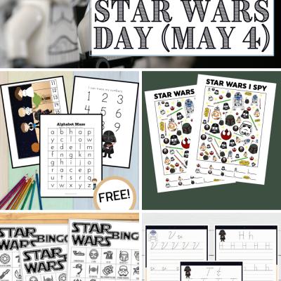 Star Wars Day Printables