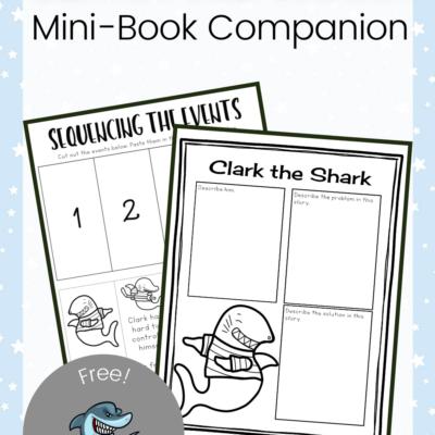 Clark the Shark Printables
