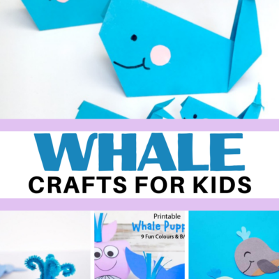 Whale Crafts for Kids