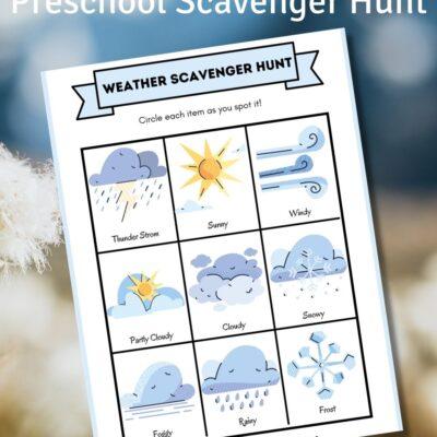 Weather Scavenger Hunt