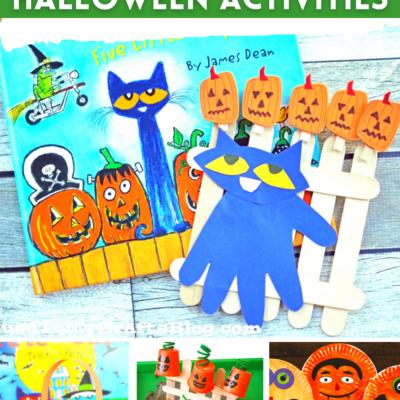 Pete the Cat Halloween Activities