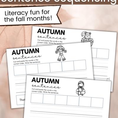 Autumn Sentence Sequencing