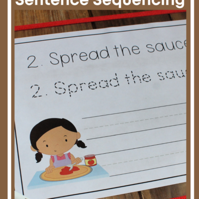 How to Make Pizza Sequence Sentences