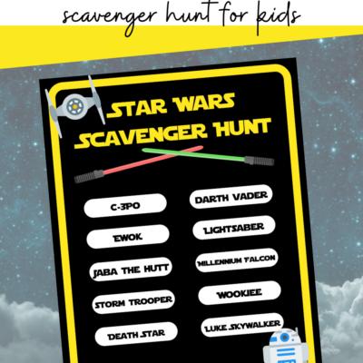Star Wars Scavenger Hunt
