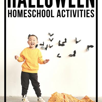 Homeschool Halloween Activities